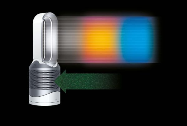 Dyson Pure Hot + Cool Link Air Purifier I White & Silver -17043