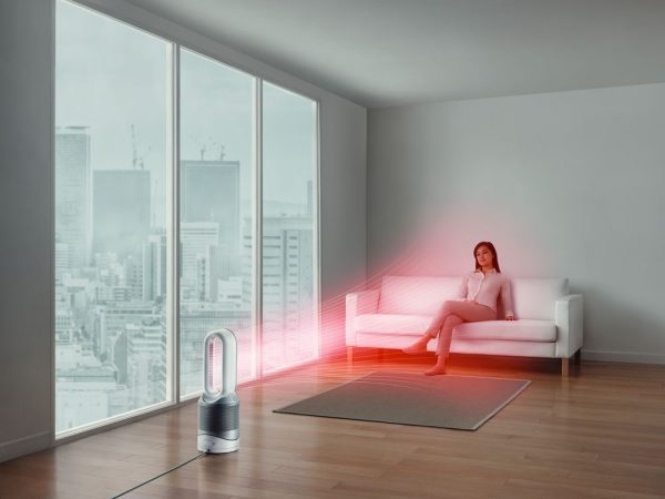 Dyson Pure Hot + Cool Link Air Purifier I White & Silver -17051